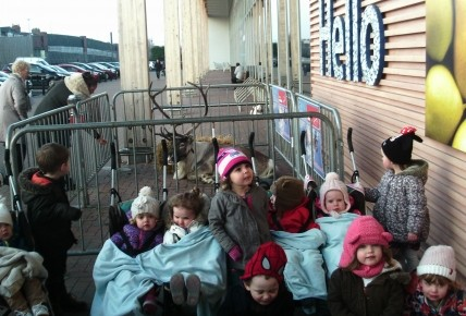 A trip to Tesco to see the Reindeer! Photo-3