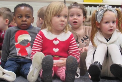 Pre-School Christmas Carol Concert Photo-2