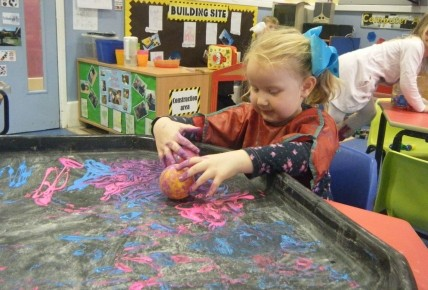 Messy play in pre-school Photo-2