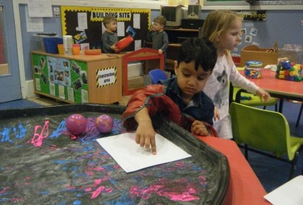Messy play in pre-school Photo-3