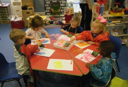 Messy play in pre-school Photo-4
