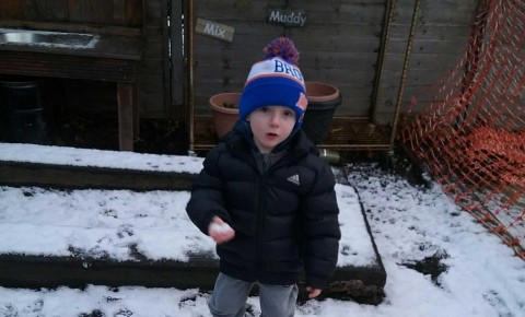 Playing outside in the snow! Photo-5