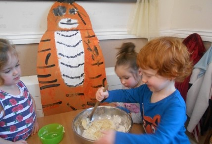 The Tiger who came to Pre School Photo-3