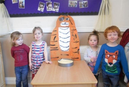 The Tiger who came to Pre School Photo-4