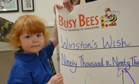 We have raised £90,093.74 for Winston's Photo-3