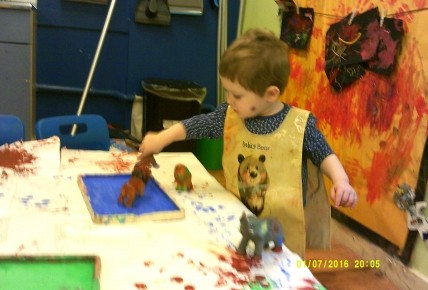 Animal Printing in Tweenies Photo-3