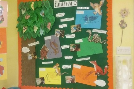 Owls Gruffalo Display