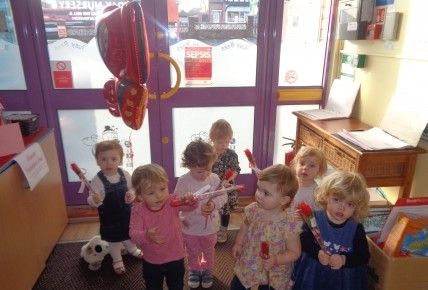 Valentines day in the caterpillar room Photo-1