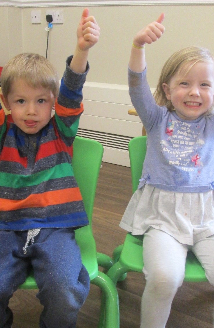 Pre School love the new chairs!