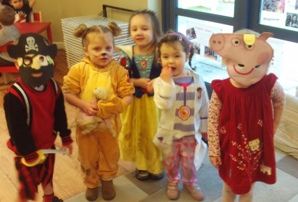 Story characters take over the nursery! Photo-3