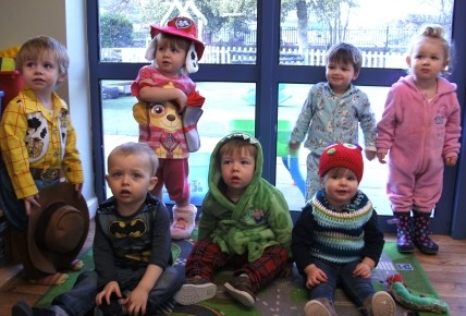 Story characters take over the nursery! Photo-5