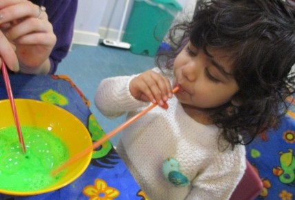 Bubble Painting Photo-1