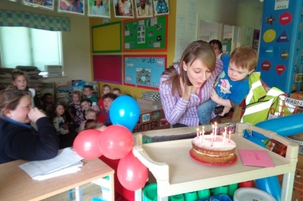 Happy Birthday to our Nursery Manager