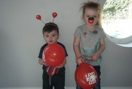 Red Nose Day Fun Photo-1