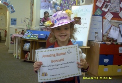 Winner of the Easter Bonnet competition  Photo-1