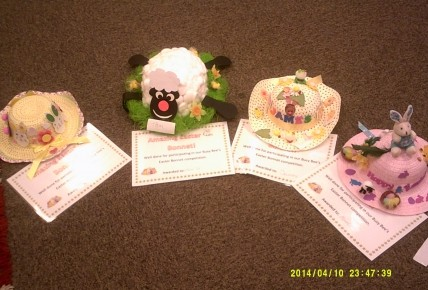 Winner of the Easter Bonnet competition  Photo-2