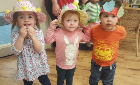 Our Easter Bonnet Fun Photo-2