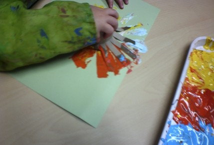 Messy play/firework pictures Photo-2