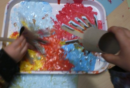 Messy play/firework pictures Photo-3
