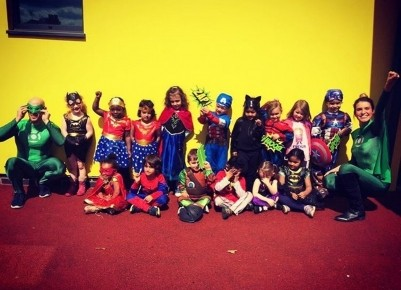 5th May was Superhero day at Busy Bees QE Photo-1