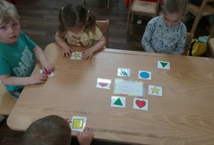 shape work with preschool Photo-2