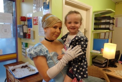 Cinderella and Batman came to visit! Photo-2