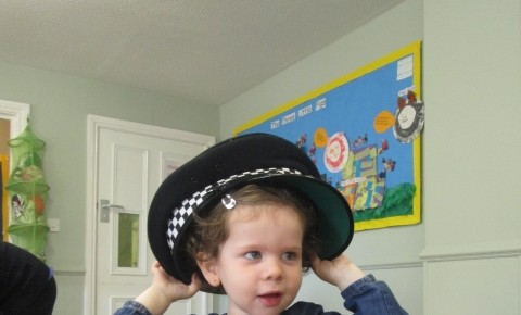 Toddlers make a Police Station Photo-1