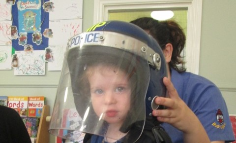 Toddlers make a Police Station Photo-2