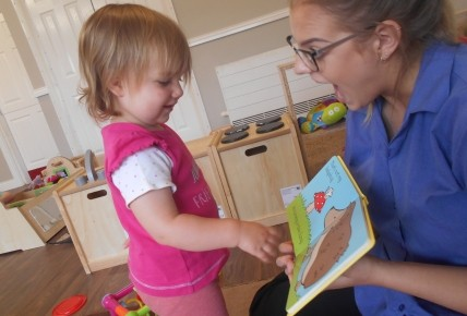 Storytime Fun in Baby Room Photo-2