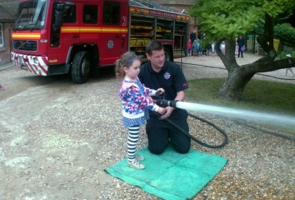 A visit from the local firefighters  Photo-4