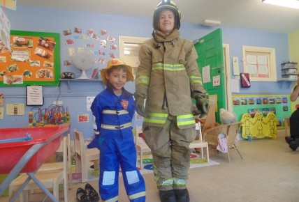 The Firemen came to nursery Photo-2
