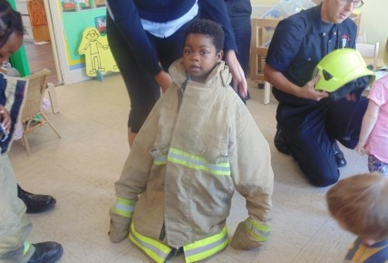 The Firemen came to nursery Photo-3