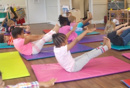 Keeping fit with Yoga for children Photo-2