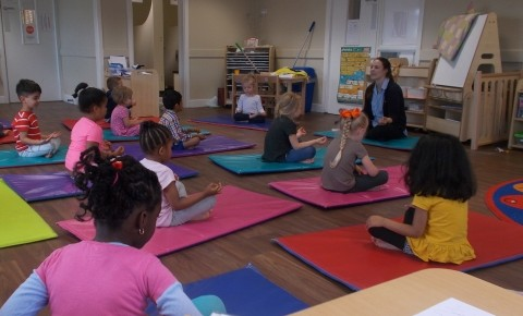 Keeping fit with Yoga for children Photo-5