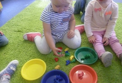 Colour sorting activity with the toddlers Photo-4