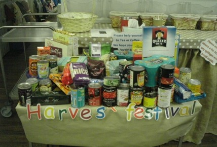 Harvest festival collections are underway! Photo-1