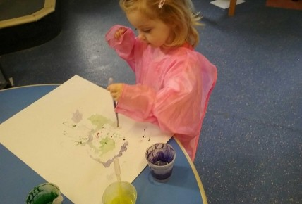 Enrolment Week-It's Painting Monday! Photo-1