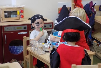 Pirates at Busy Bees Leicester Meridian Photo-3