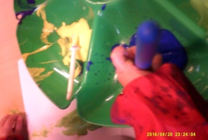 Painting in Babies Photo-4