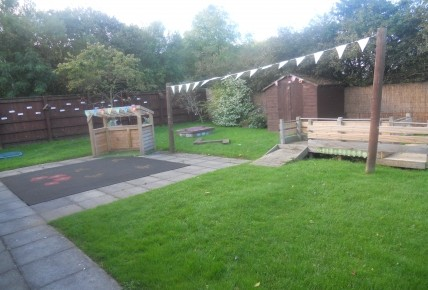 Our Nursery Garden Before the Refurbishment... Photo-3