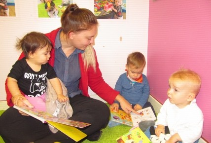 Our Busy Bees in Baby room Photo-1