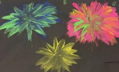 Fireworks Painting Fun