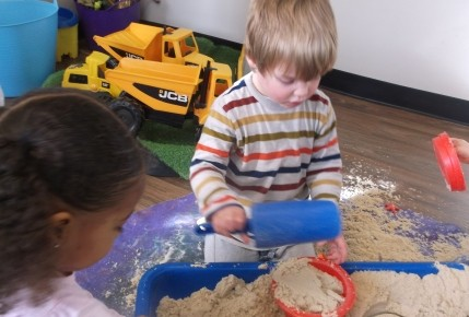 Sand and Water Play Photo-1