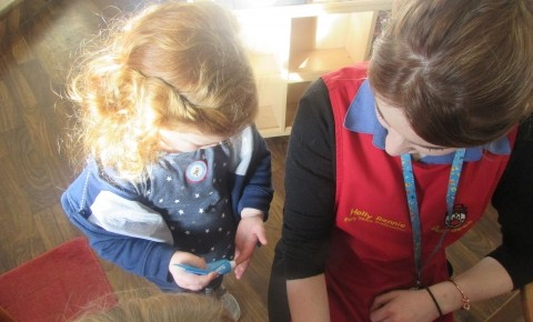 Glenrothes Preschool visited by Nurse Elaine Photo-1