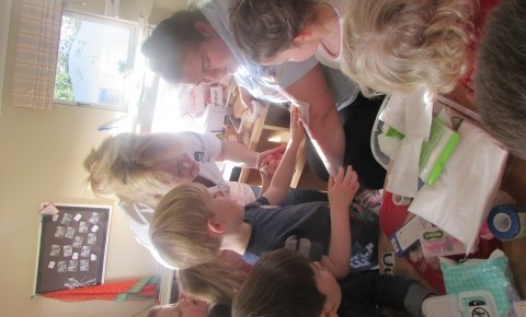 Glenrothes Preschool visited by Nurse Elaine Photo-2