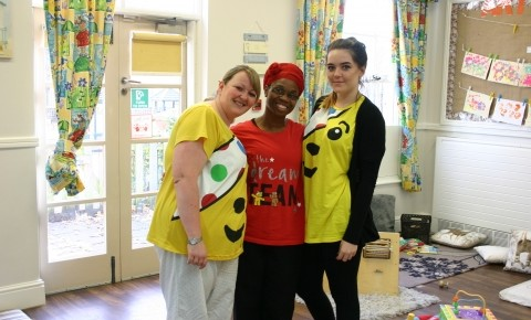 Children in Need Fundraising Photo-1