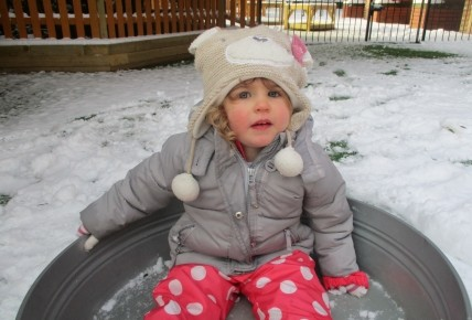 Fun in the snow at Burntwood nursery! Photo-2