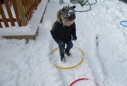 Fun in the snow at Burntwood nursery! Photo-3