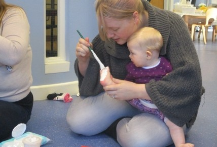 Busy Bees at St Matthews - Another Succesful Baby Group
