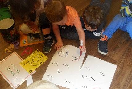 PreSchool Learning their numbers & letters Photo-3